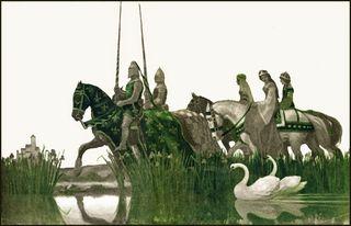 Illustration by NC Wyeth