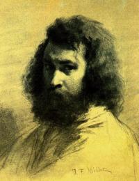 Self-portrait Jean-François Millet