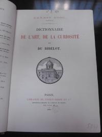 Dictionnaire de l'art  de la curiosité et du bibelot 1883