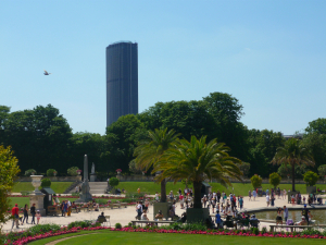 Montparnasse Tower over the Jardin de Luxembourg