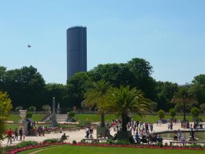 Montparnasse Tower over the Jardin de Luxembourg