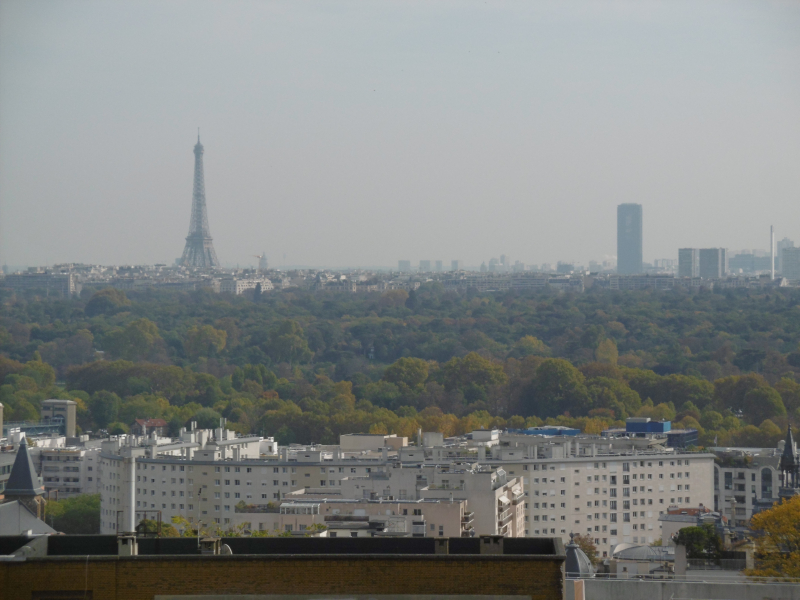 Tour Montparnasse  footman to the Iron Lady