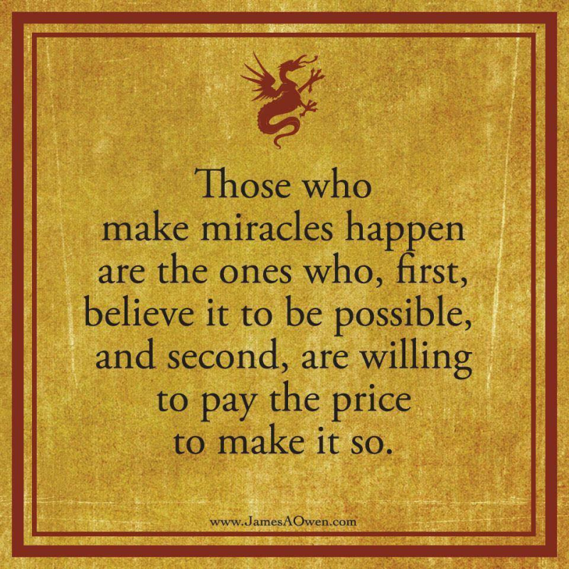 Those who make miracles happen