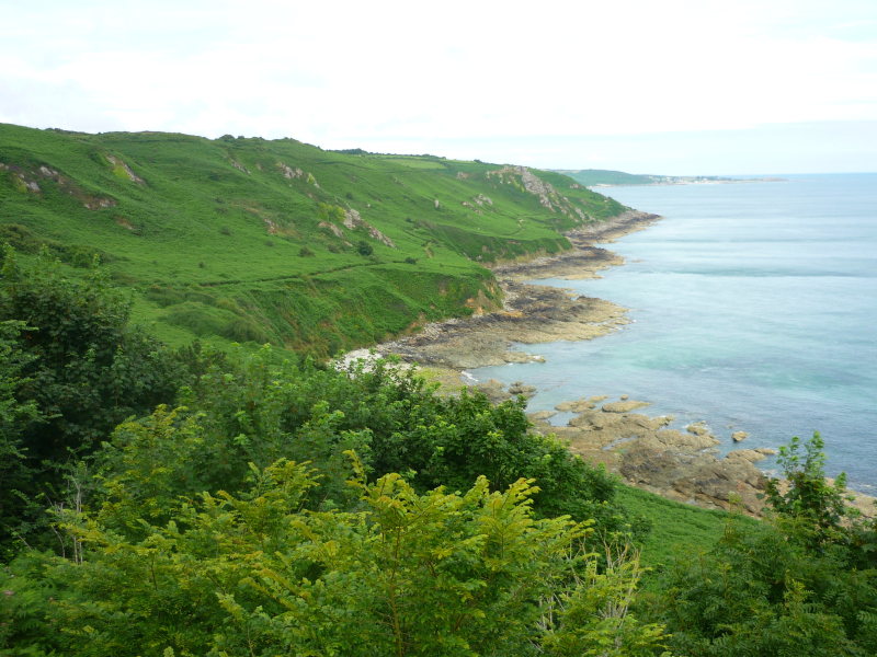 Normandy Coast near Gruchy