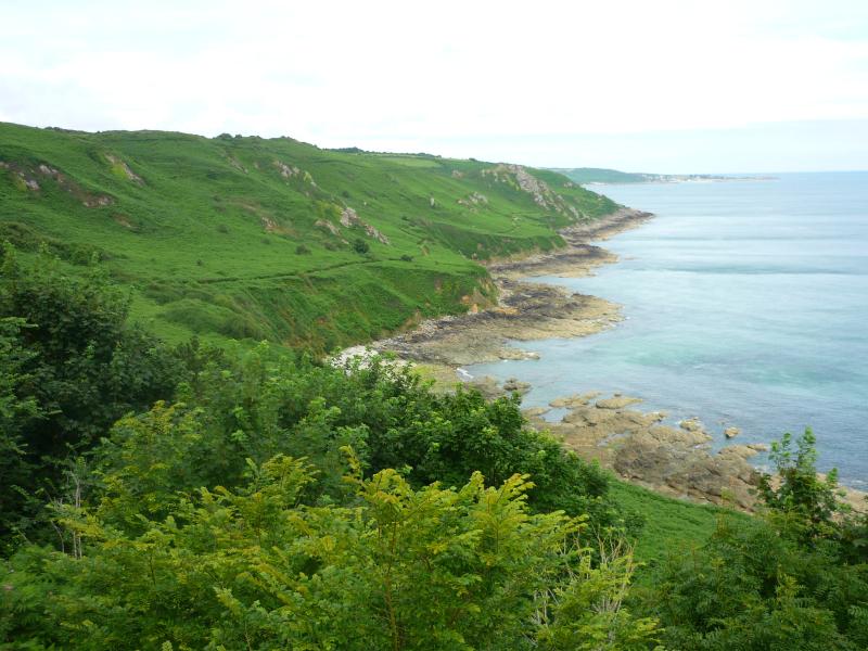 Normandy Coast near Gruchy