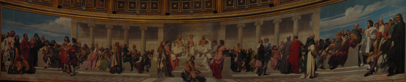 Hemicycle d'honneur by Paul Delaroche