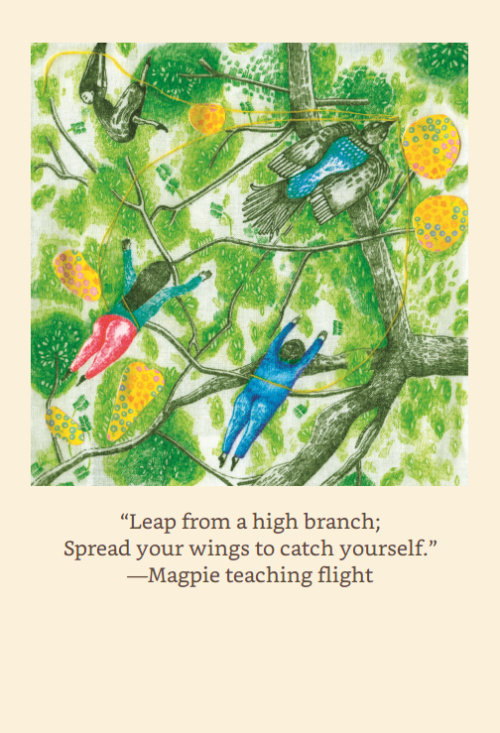 Leap from a high branch - ebook preview