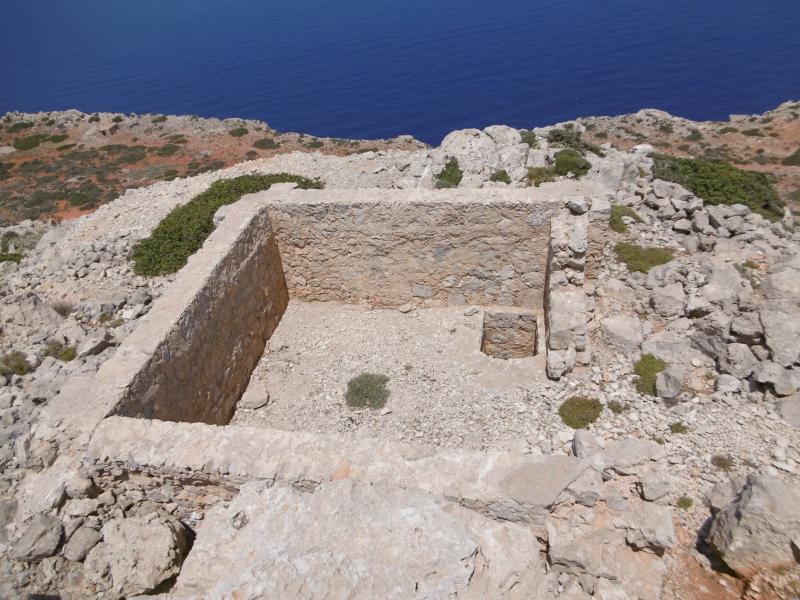 Ruin atop Zovigli