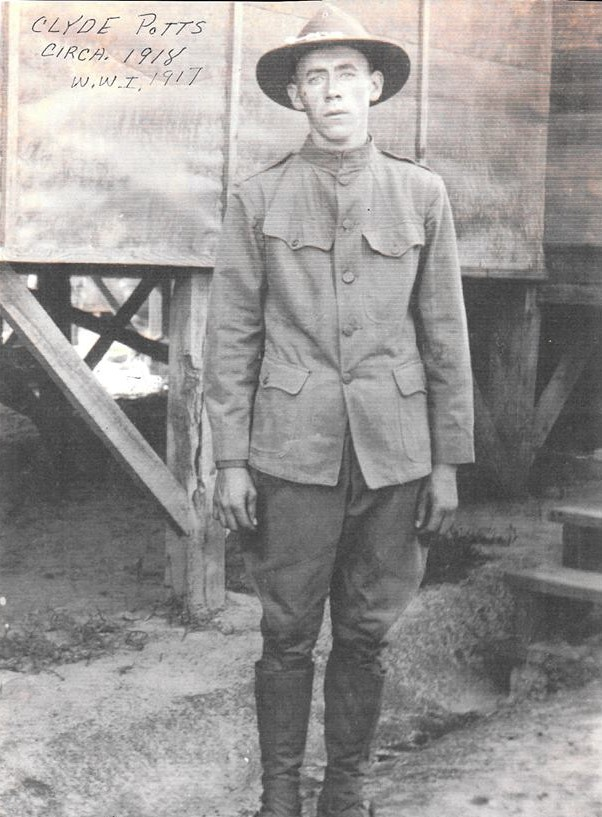 Clyde Brake in uniform