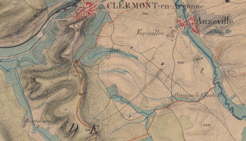 Auzéville Grange-le-Comte Ferme Beauchamp