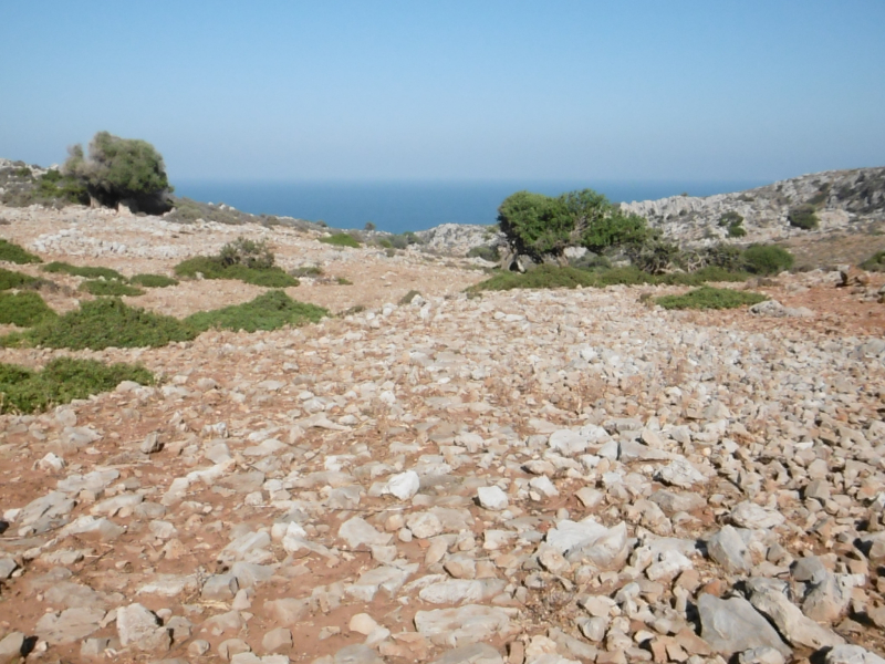 150 meters of the Roman road on Rodopou