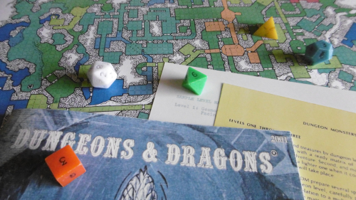 Holmes Basic  Monster and Treasure Assortment  Dungeon Geomorphs on The Deep Halls Map