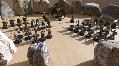 Regiments assembled before Solon Theros and Anax Archontas