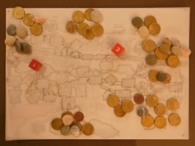 Situation at the End of the Masked Boar Mining Magnate Tokens