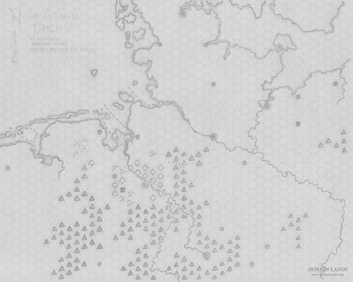 Wilderness Map—The Grand Duchy and Western Borderlands