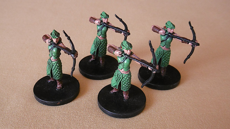 Archers in Two Ranks