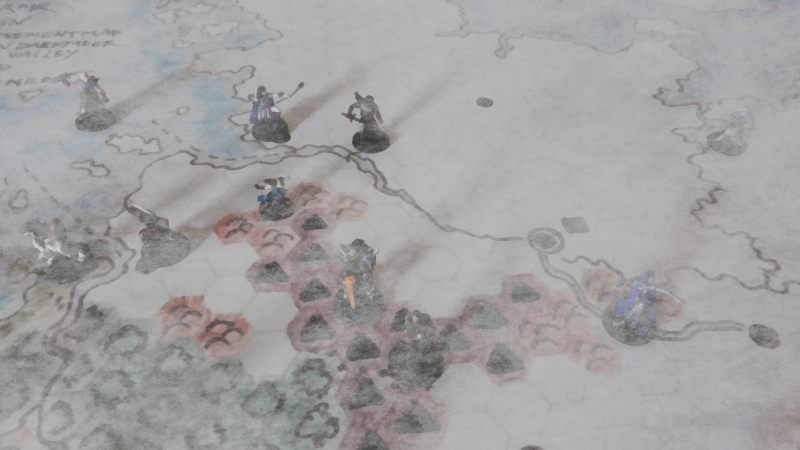 Strategic Movement Under Fog