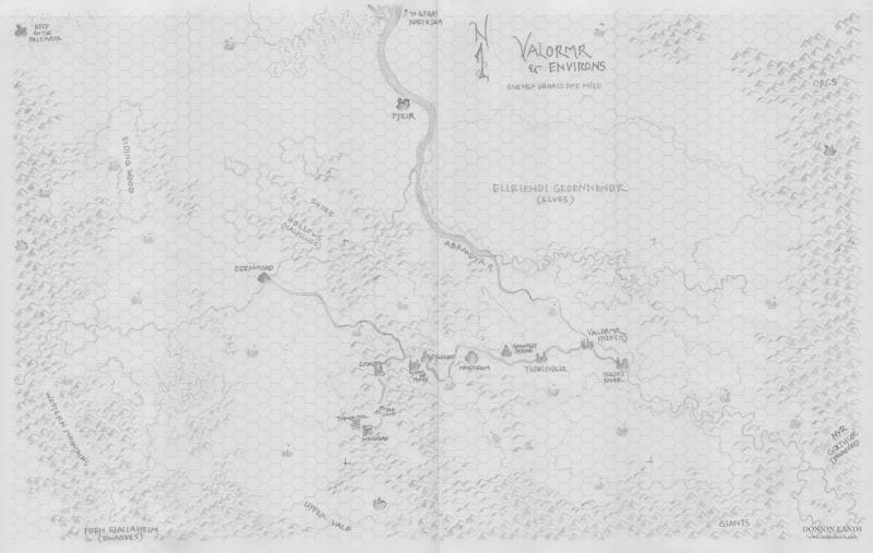 Valormr and Environs